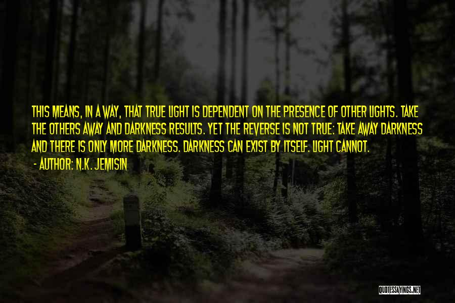 Light And Darkness Quotes By N.K. Jemisin