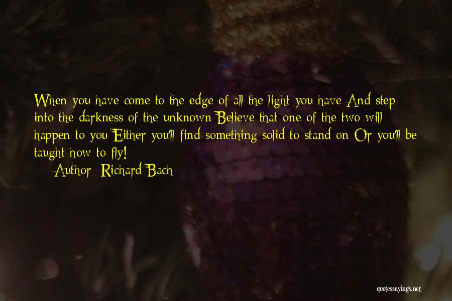 Light And Darkness Quotes By Richard Bach