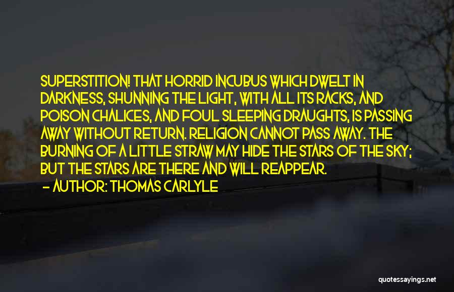 Light And Darkness Quotes By Thomas Carlyle