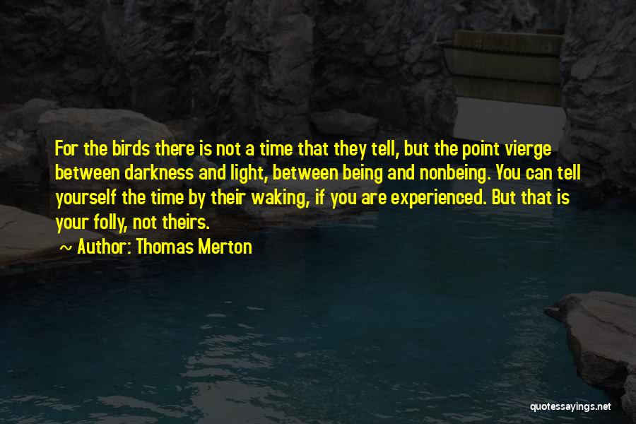 Light And Darkness Quotes By Thomas Merton