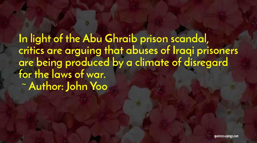Light Being Quotes By John Yoo