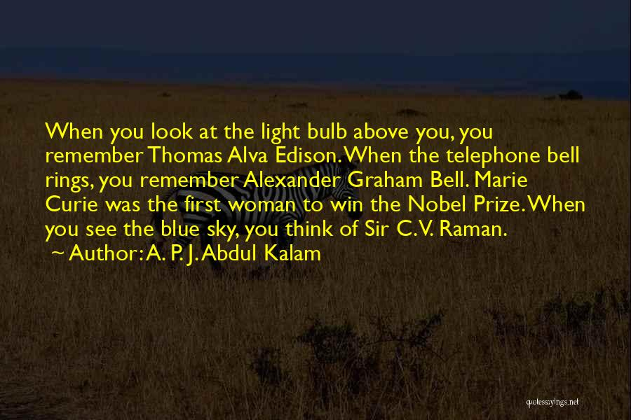Light Bulb Quotes By A. P. J. Abdul Kalam