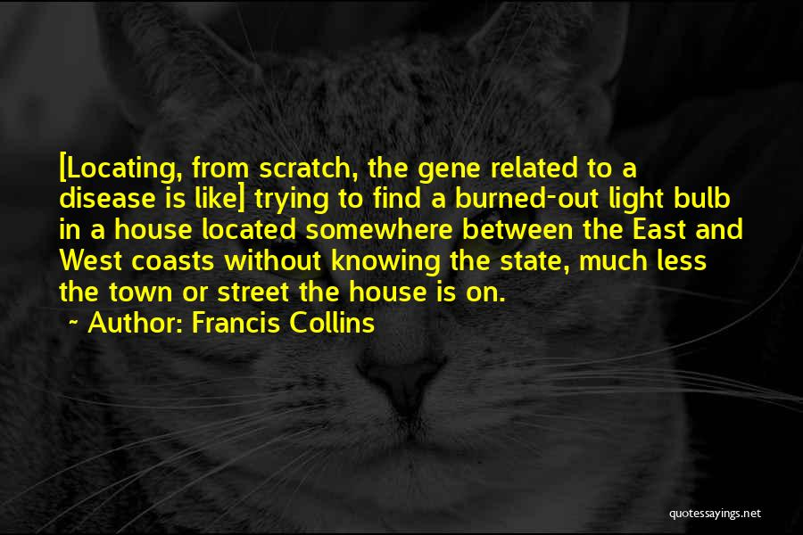 Light Bulb Quotes By Francis Collins