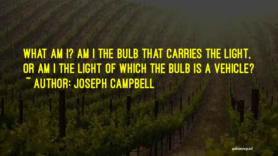 Light Bulb Quotes By Joseph Campbell