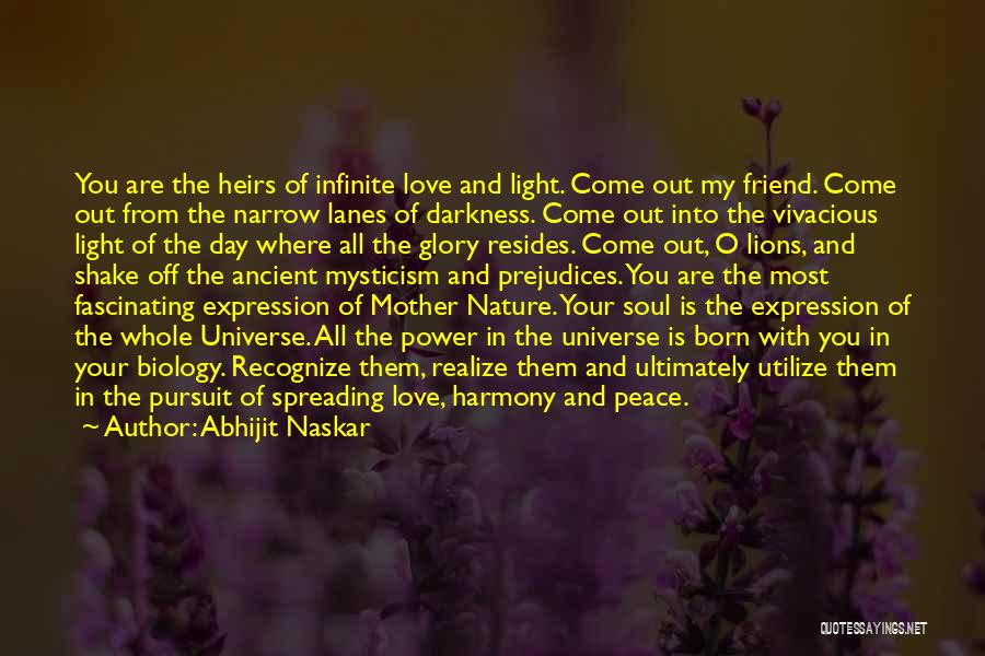 Light In The Soul Quotes By Abhijit Naskar