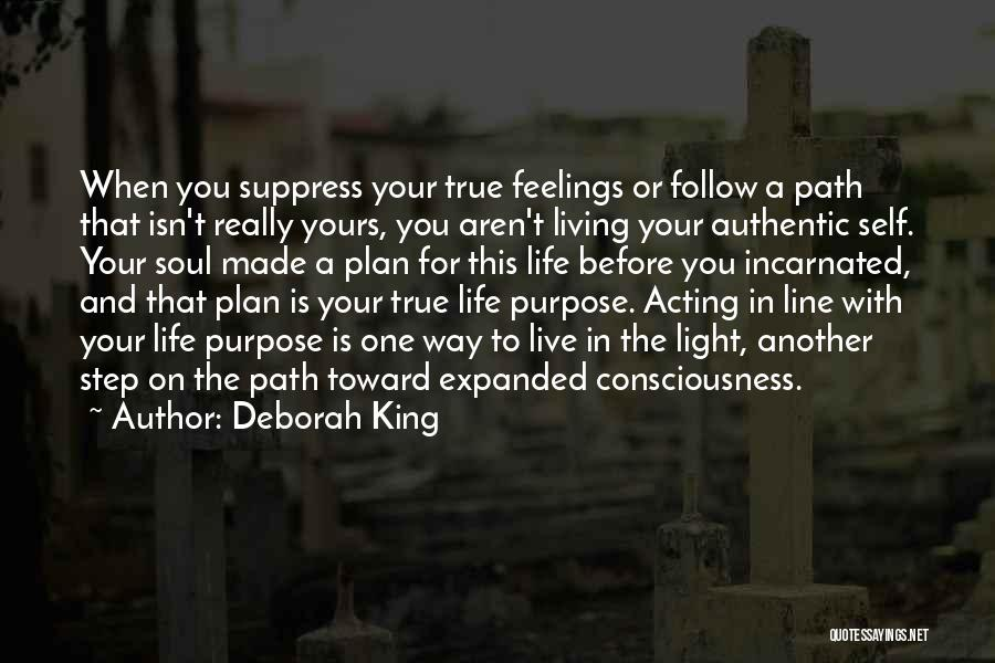 Light In The Soul Quotes By Deborah King