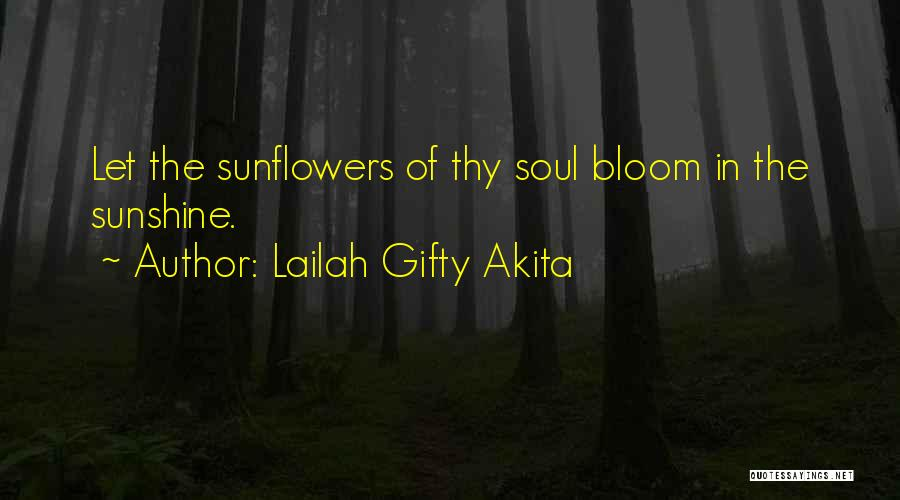 Light In The Soul Quotes By Lailah Gifty Akita