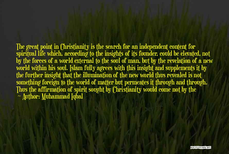 Light In The Soul Quotes By Muhammad Iqbal