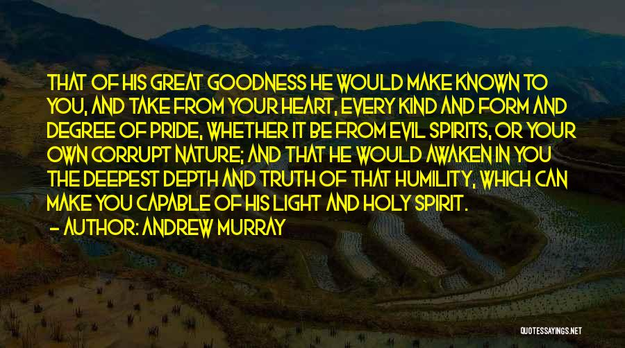 Light In Your Heart Quotes By Andrew Murray
