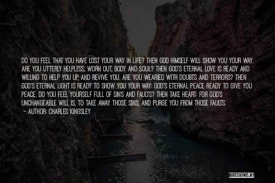 Light In Your Heart Quotes By Charles Kingsley