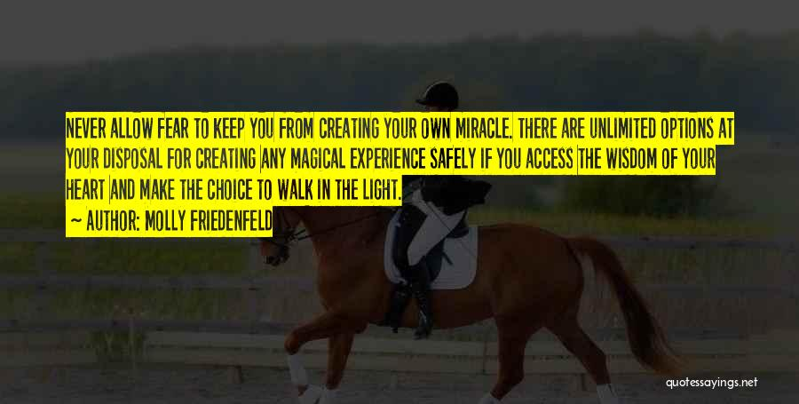 Light In Your Heart Quotes By Molly Friedenfeld