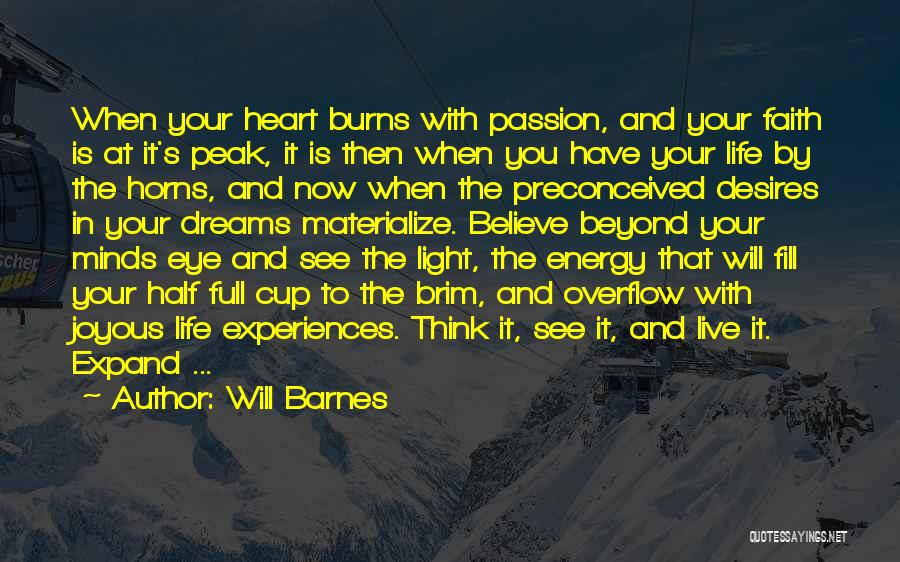 Light In Your Heart Quotes By Will Barnes