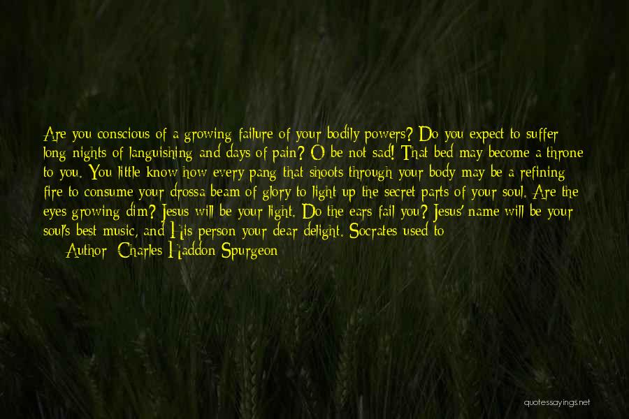 Light Of Your Soul Quotes By Charles Haddon Spurgeon