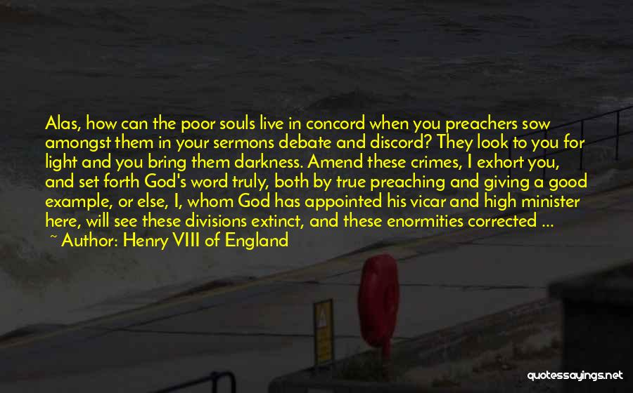 Light Of Your Soul Quotes By Henry VIII Of England