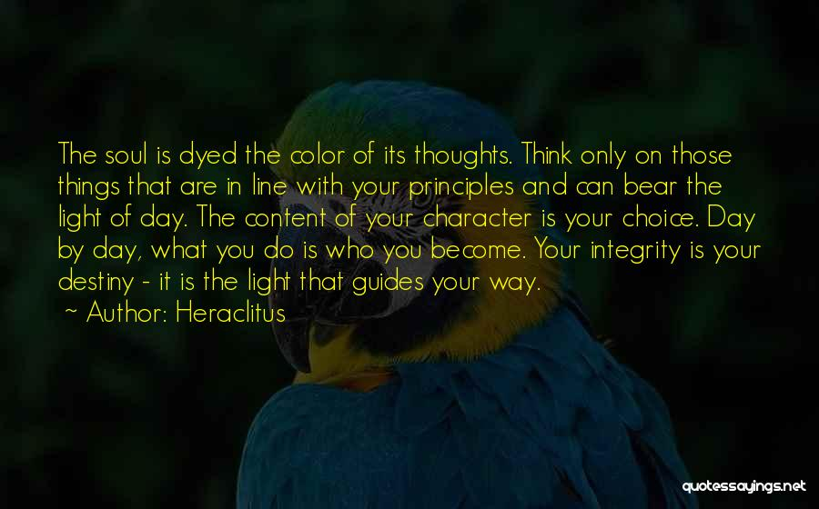 Light Of Your Soul Quotes By Heraclitus
