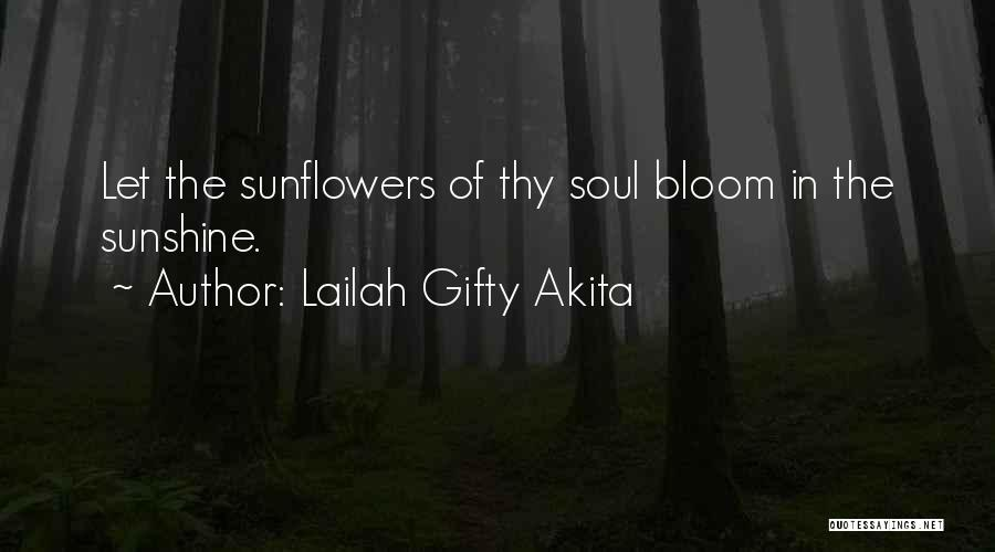 Light Of Your Soul Quotes By Lailah Gifty Akita