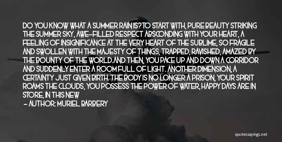 Light Of Your Soul Quotes By Muriel Barbery