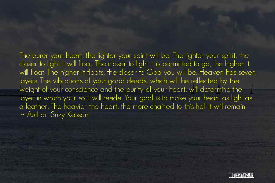 Light Of Your Soul Quotes By Suzy Kassem
