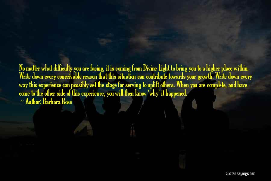 Light The Way For Others Quotes By Barbara Rose