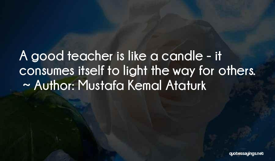 Light The Way For Others Quotes By Mustafa Kemal Ataturk