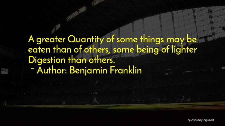 Lighter Quotes By Benjamin Franklin