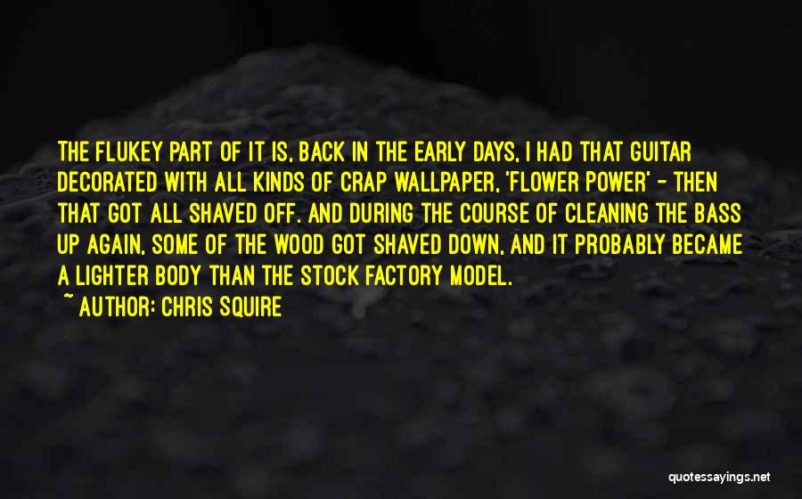 Lighter Quotes By Chris Squire