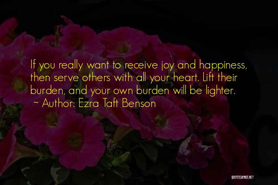 Lighter Quotes By Ezra Taft Benson