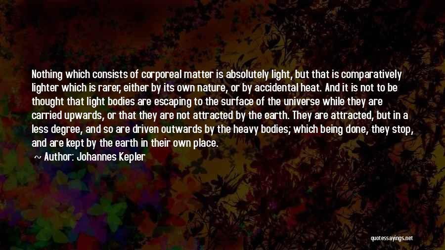 Lighter Quotes By Johannes Kepler