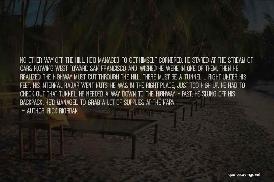 Lighter Quotes By Rick Riordan