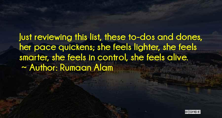 Lighter Quotes By Rumaan Alam