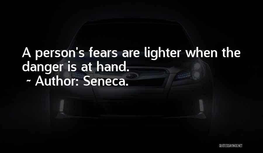 Lighter Quotes By Seneca.