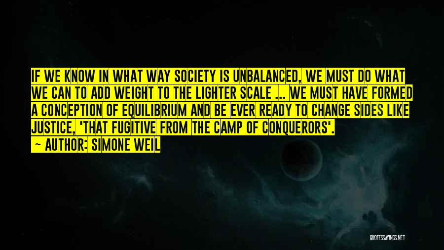 Lighter Quotes By Simone Weil