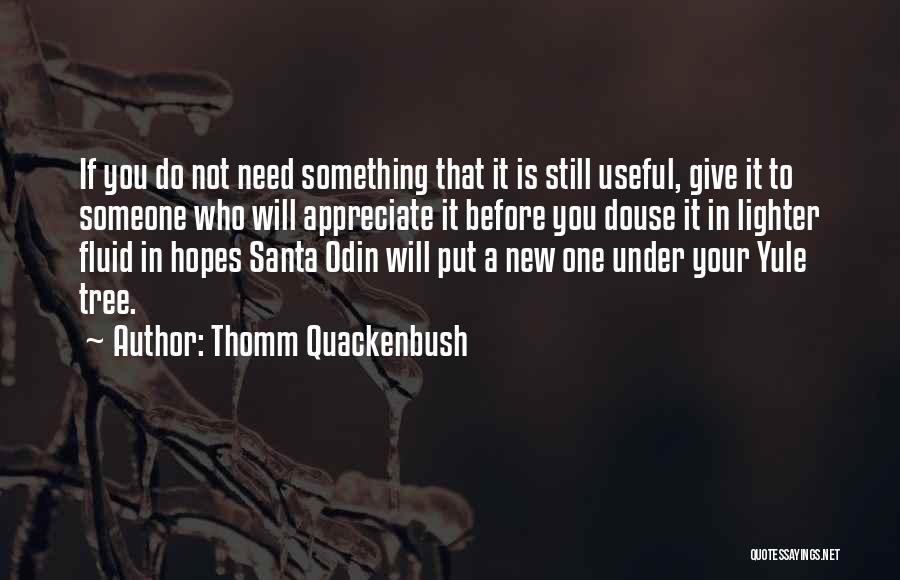 Lighter Quotes By Thomm Quackenbush
