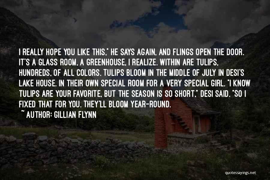 Like A Girl Quotes By Gillian Flynn