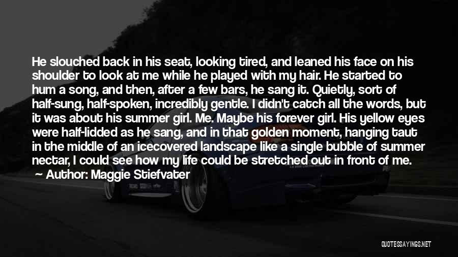 Like A Girl Quotes By Maggie Stiefvater