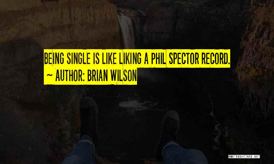 Like Being Single Quotes By Brian Wilson
