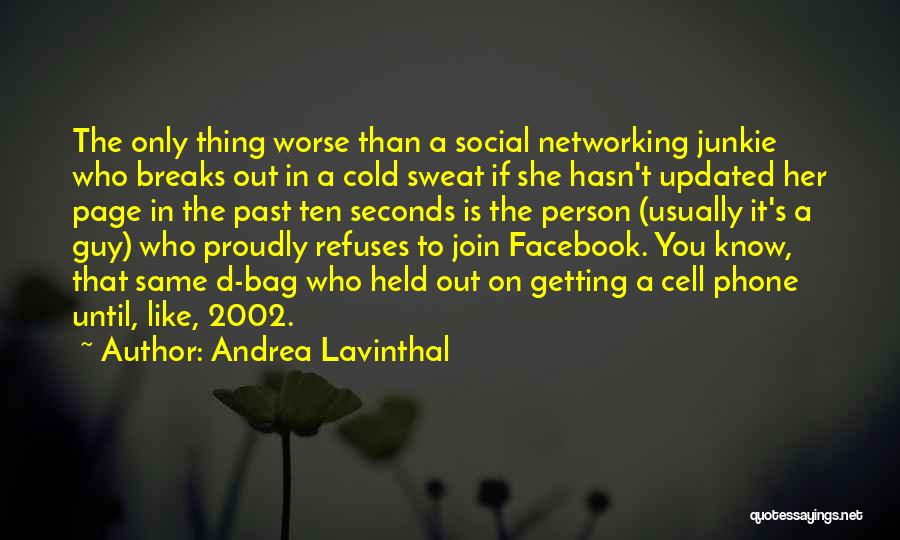 Like My Facebook Page Quotes By Andrea Lavinthal