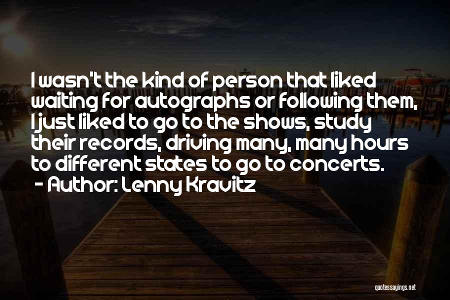 Liked Quotes By Lenny Kravitz