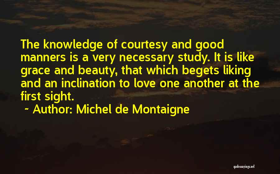 Liking Someone More Than You Should Quotes By Michel De Montaigne