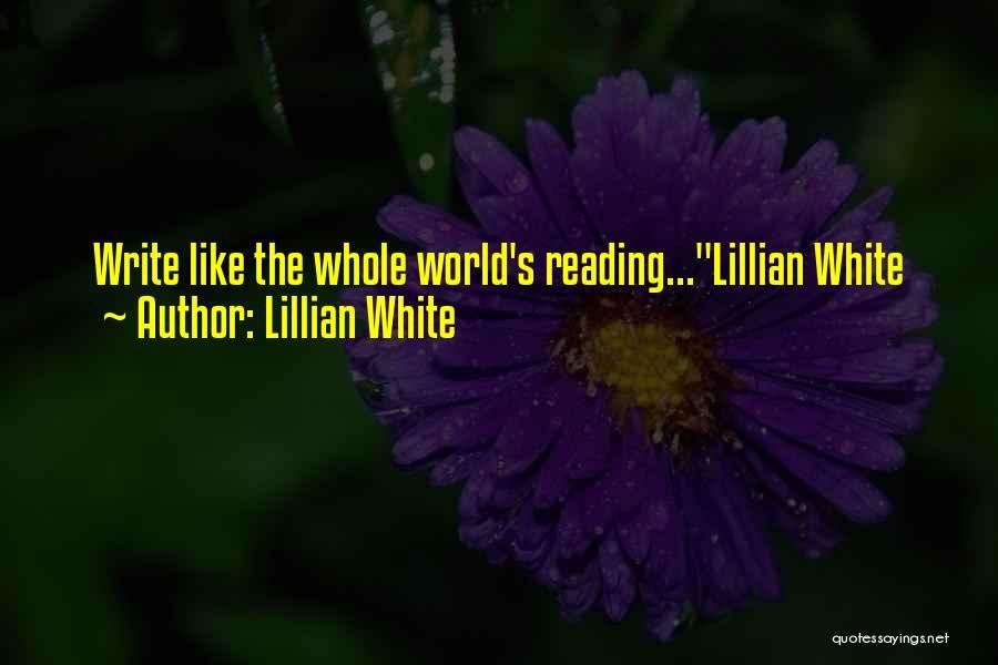 Lillian White Quotes 1778992