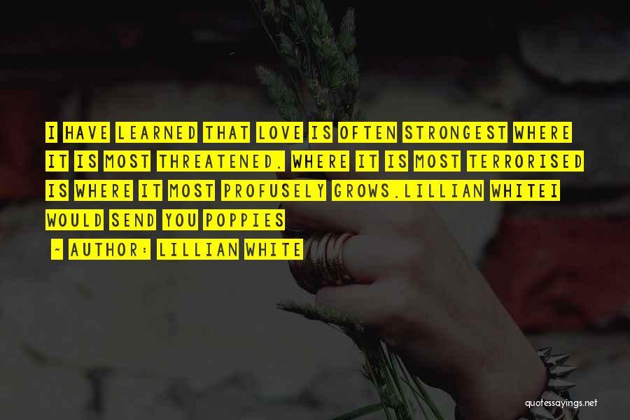 Lillian White Quotes 2162228