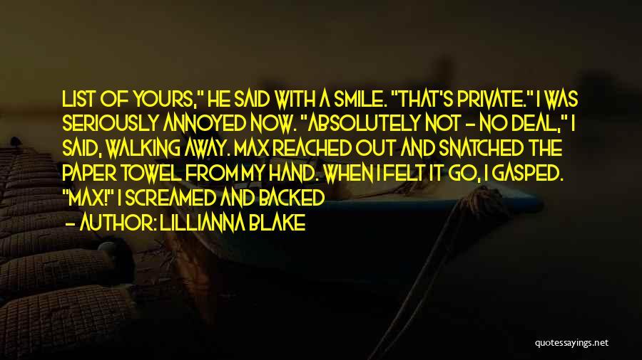 Lillianna Blake Quotes 1927096