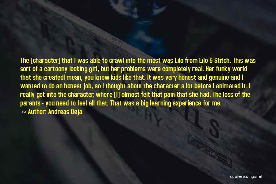 Lilo Stitch 2 Quotes By Andreas Deja