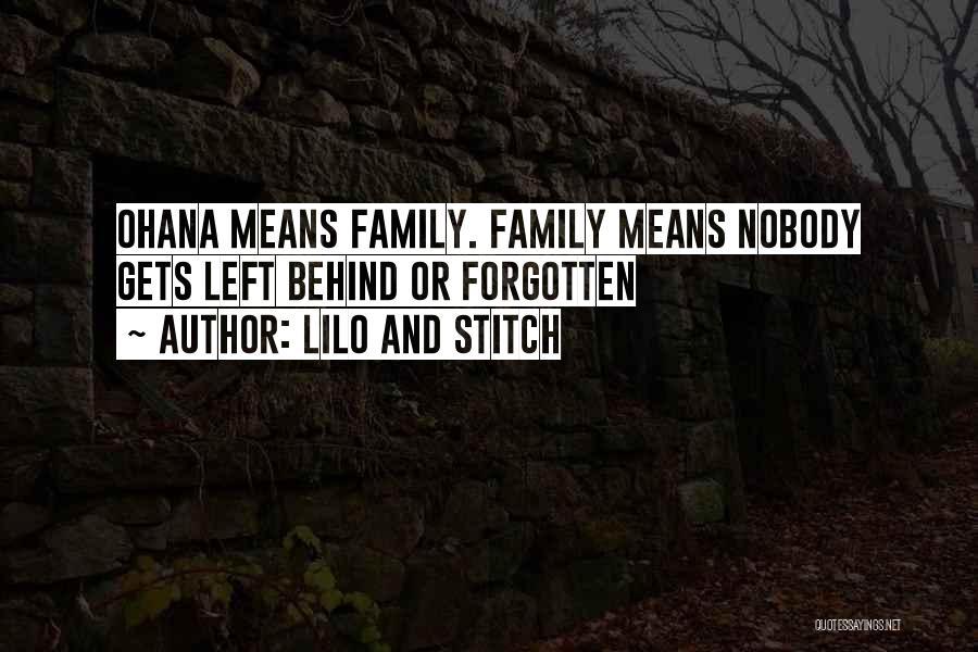 Lilo Stitch 2 Quotes By Lilo And Stitch