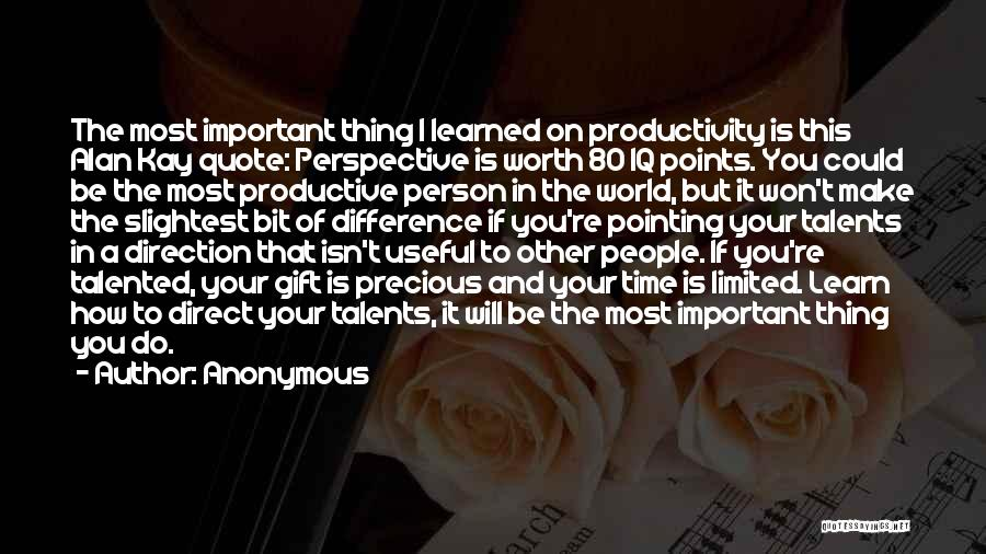 Limited Perspective Quotes By Anonymous