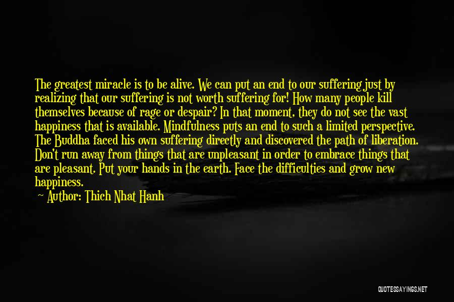 Limited Perspective Quotes By Thich Nhat Hanh