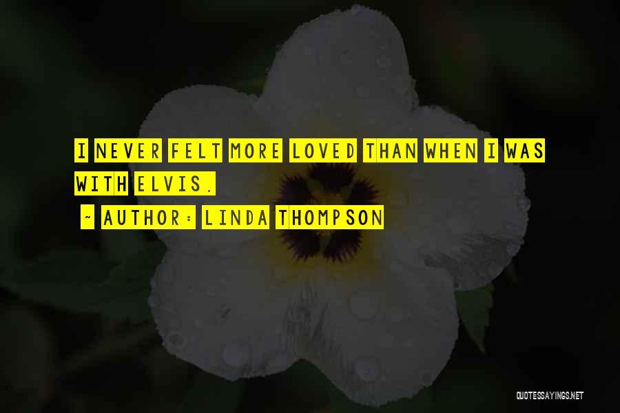 Linda Thompson Quotes 235378
