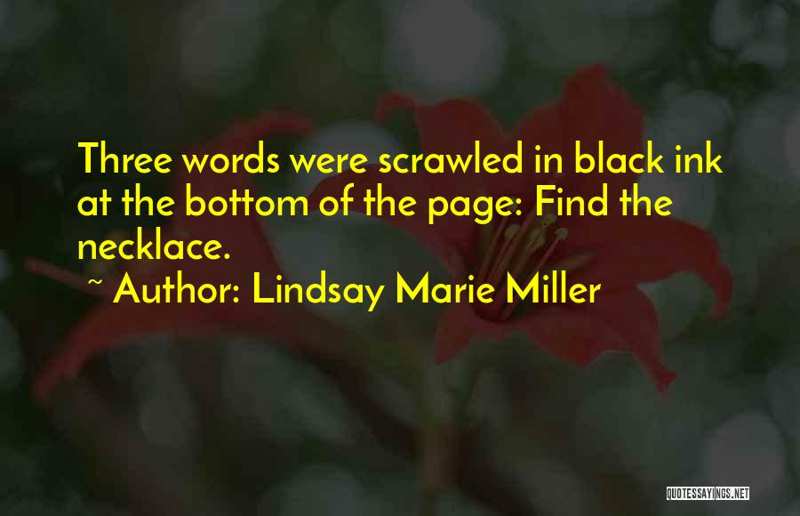 Lindsay Marie Miller Quotes 382010