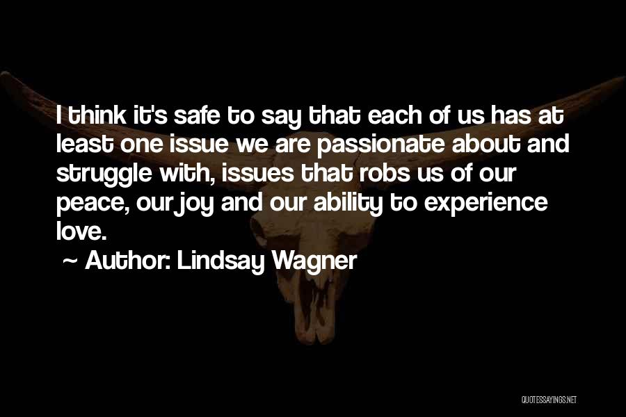 Lindsay Wagner Quotes 1278864