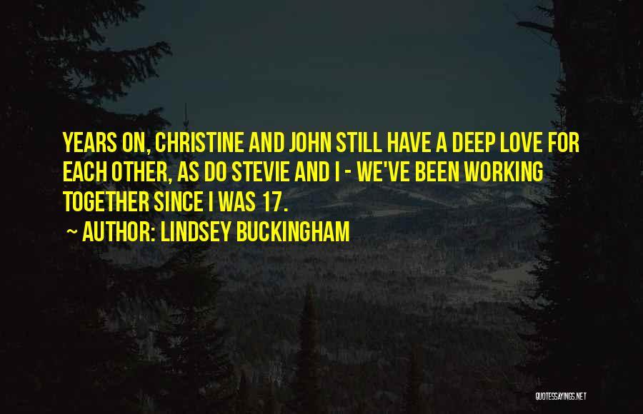 Lindsey Buckingham Quotes 1252636